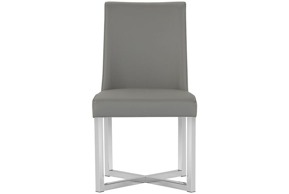 Howard Gray Upholstered Side Chair