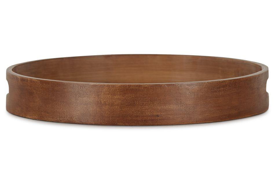 Donna Wood Round Tray