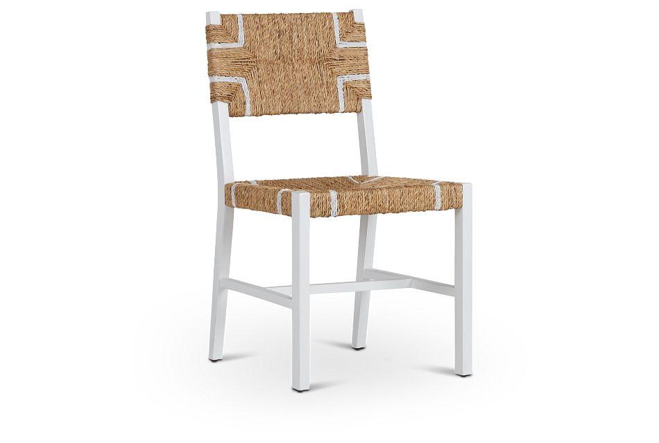 Nantucket Light Tone Woven Side Chair,  (1)