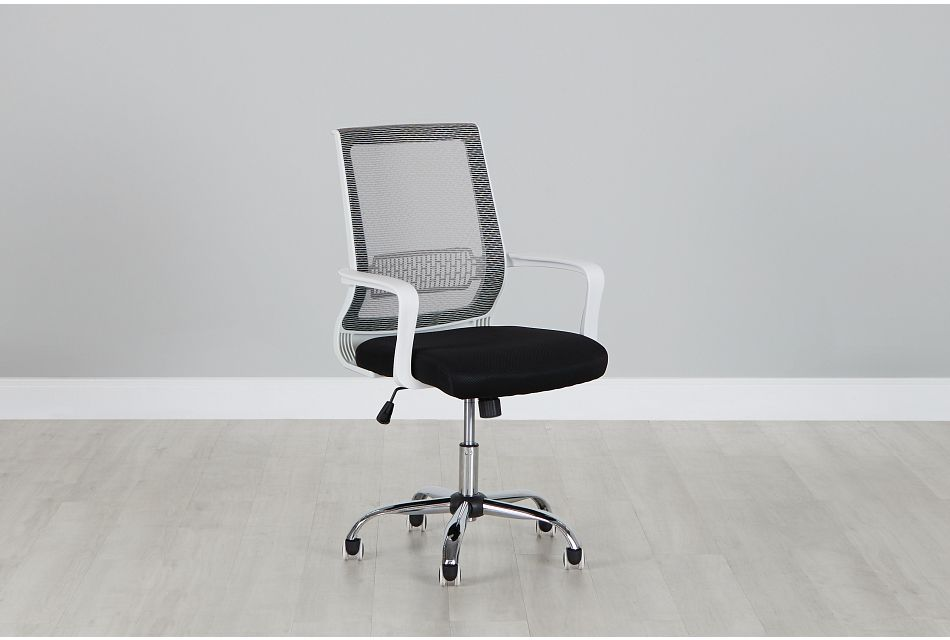 Tulsa Two-Tone Desk Chair, %%bed_Size%% (0)