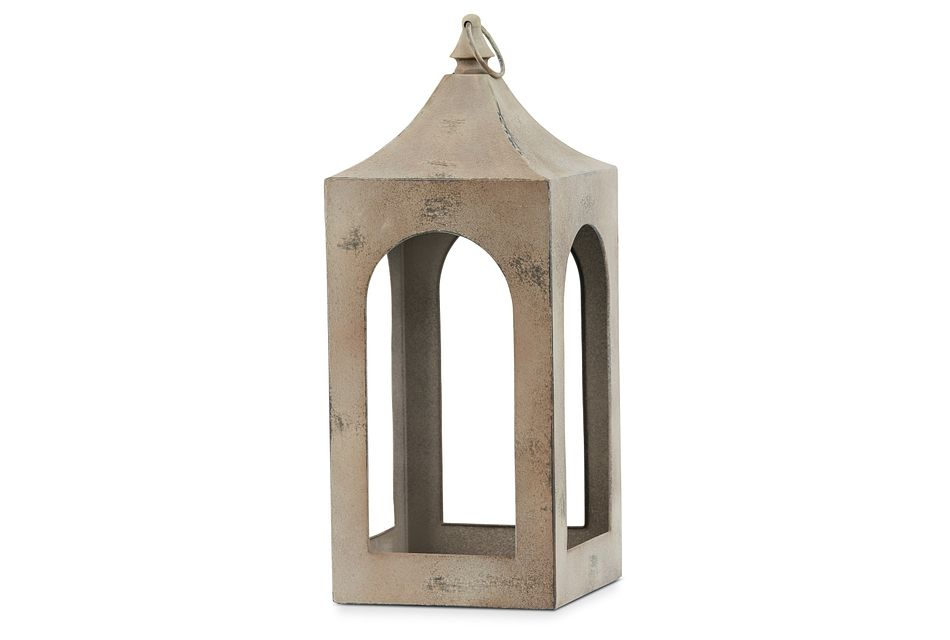 Boston Metal Medium Lantern