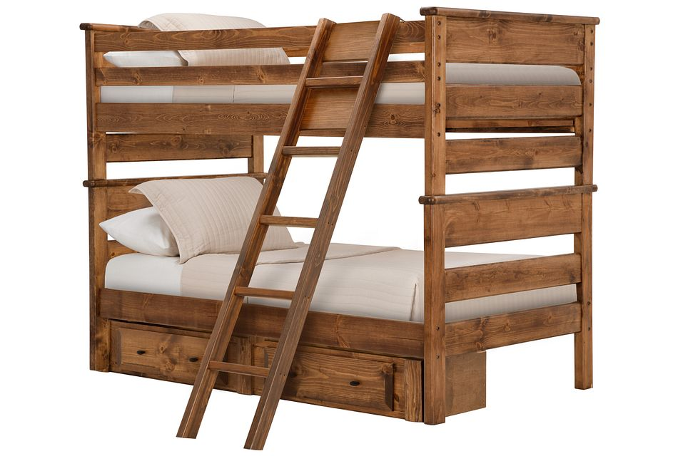 Laguna Dark Tone Storage Bunk Bed