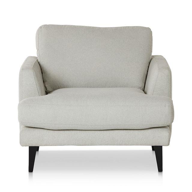 Fremont Light Beige Fabric Chair (2)