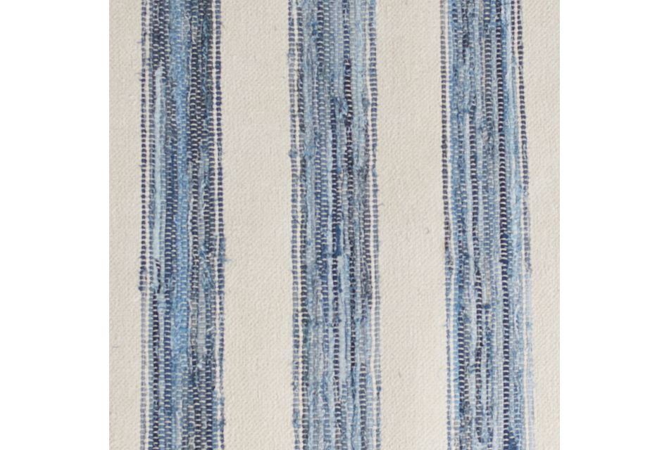 Naica Blue Stripe 8x10 Area Rug, 8X10 Area Rug (1)