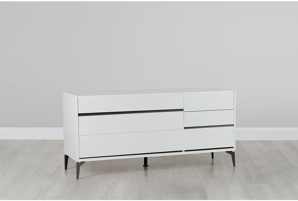Oslo White  Dresser,  (0)