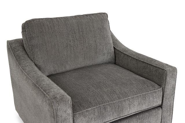 Bianca Gray Fabric Chair