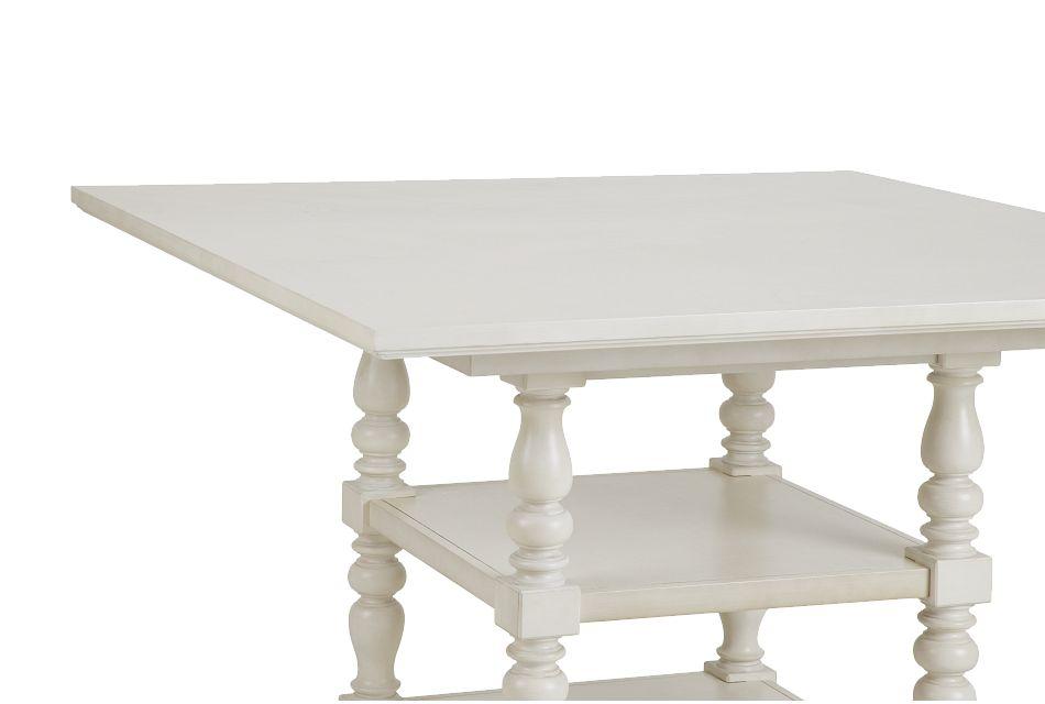Savannah Ivory High Dining Table