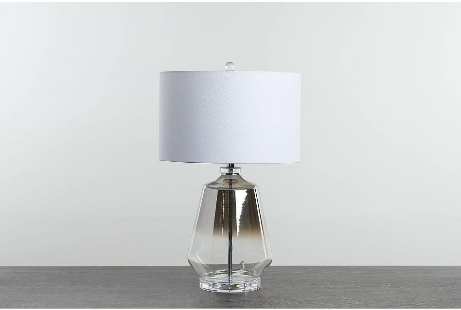 Adara Silver  Table Lamp,  (0)