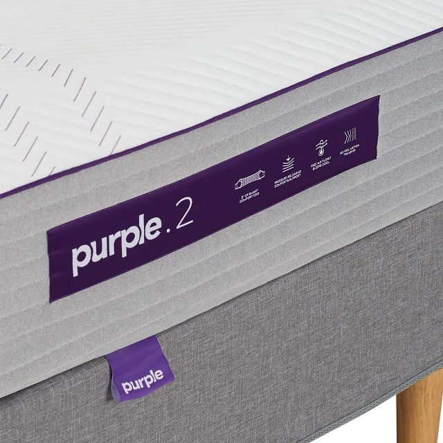 Purple Hybrid Mattress (2)