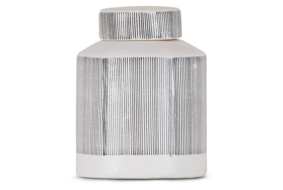 Rigel Gray Ceramic Jar