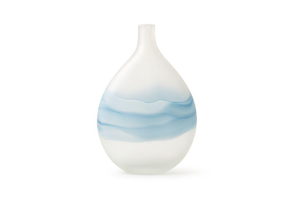 Eloise Blue Vase