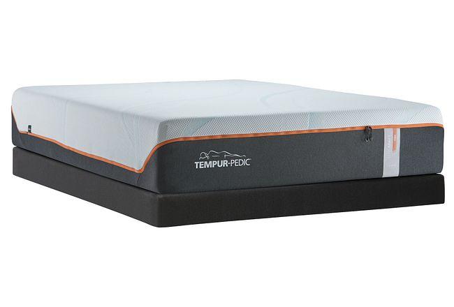 Tempur-luxe Adapt Firm Memoryfoam Low-profile Mattress Set