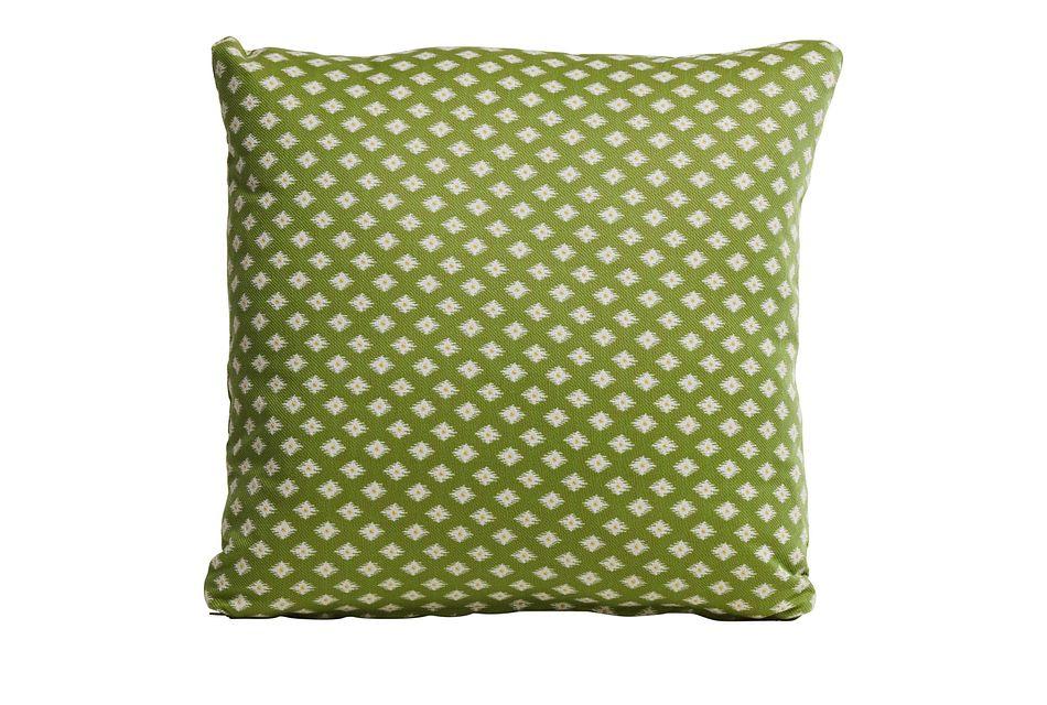 "Kitty Hawk Green 18"" Indoor/outdoor Accent Pillow"