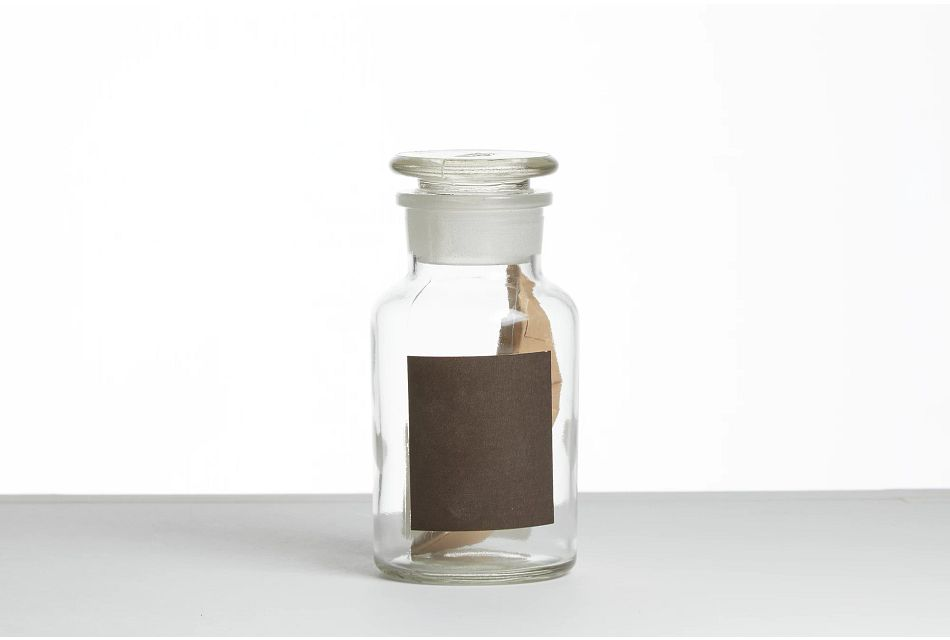 Carson Glass Small Jar