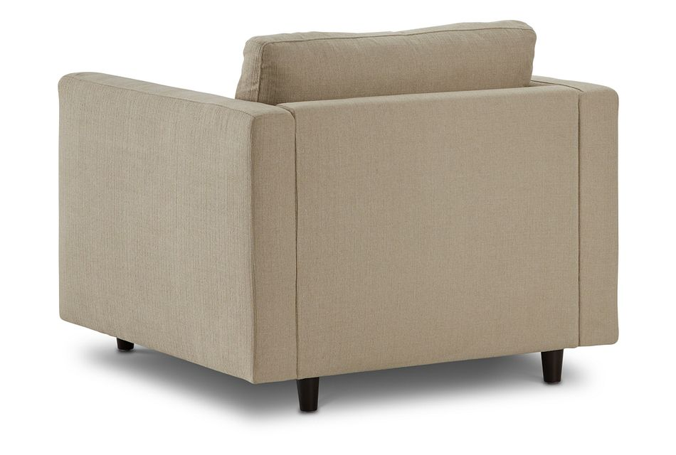 Simone Beige Fabric Chair