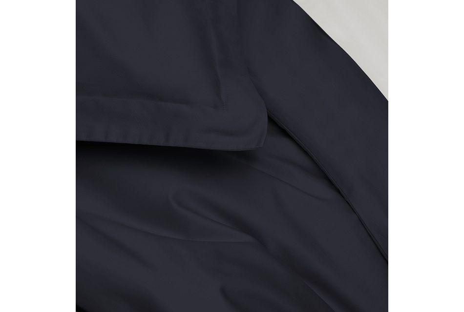 Organic Cotton Dark Blue 300 Thread Duvet Set