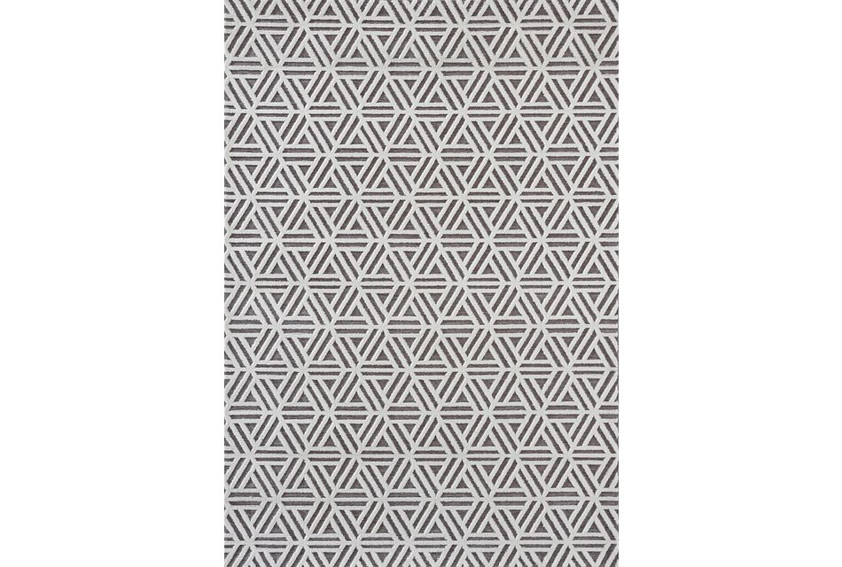 Obscur Gray 8x10 Area Rug