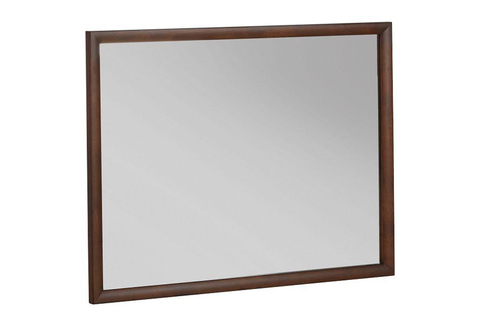 Savoy Mid Tone Landscape Mirror