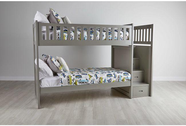 Bailey Gray Bunk Bed