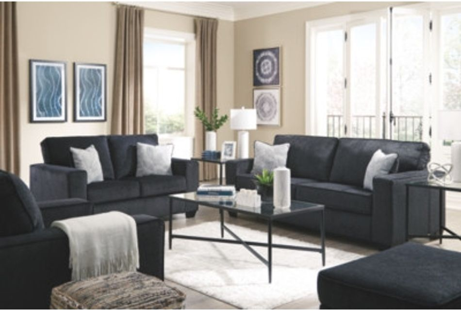 Altari Dark Gray Micro Sofa