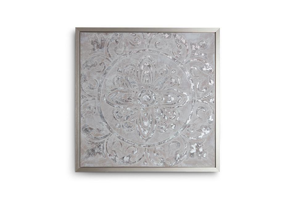 Rheana Silver Framed Wall Art