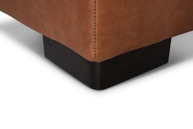 Bohan Brown Leather Chair
