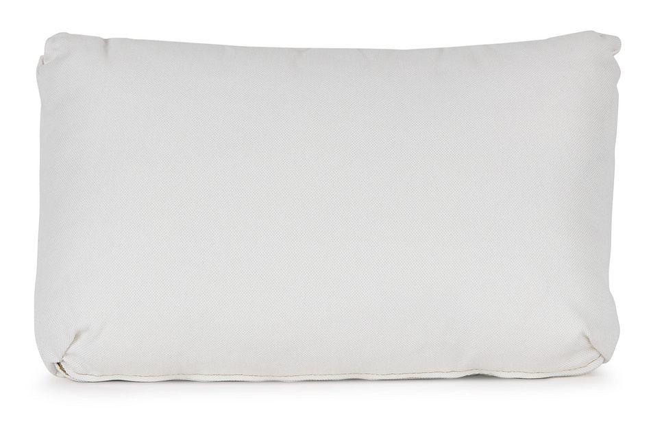 Turner White Lumbar Accent Pillow