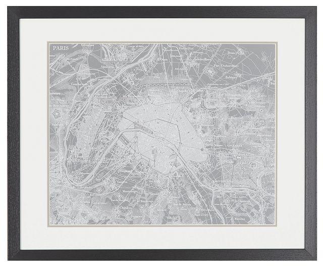 Atlas Gray Framed Wall Art (0)