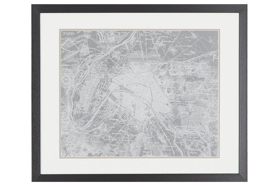 Atlas Gray Framed Wall Art