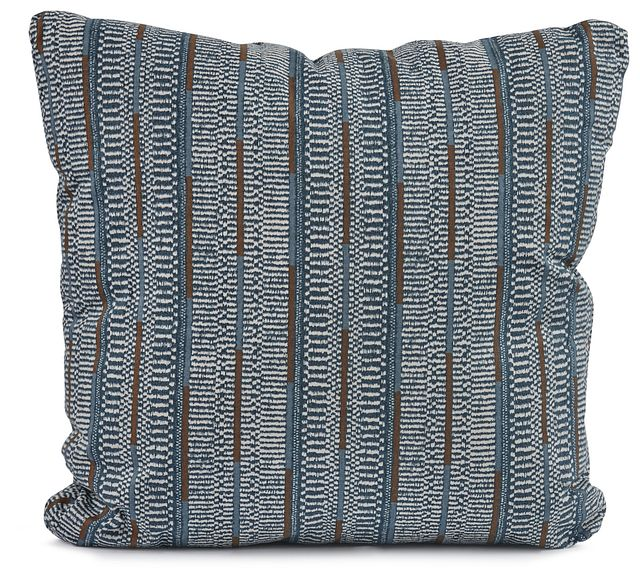 "Ashanti Blue 20"" Square Accent Pillow (0)"
