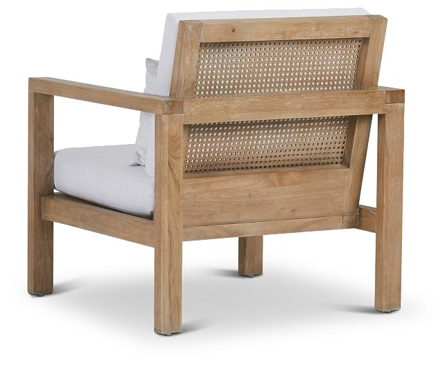 Nantucket Light Tone Woven Accent Chair