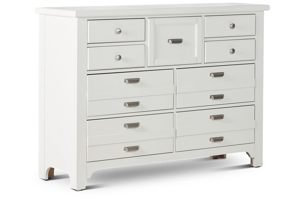 Bungalow Ivory 9-drawer Dresser