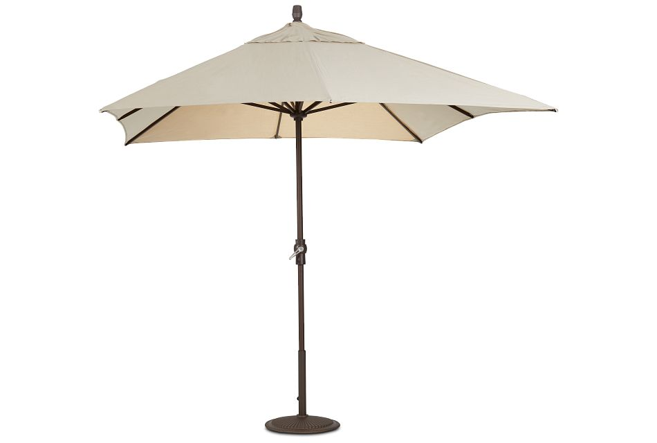 Primera Khaki Rect Umbrella Set