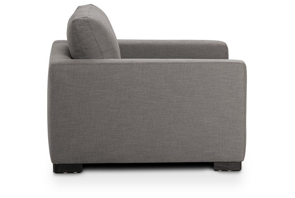 Bohan Dark Gray Fabric Chair