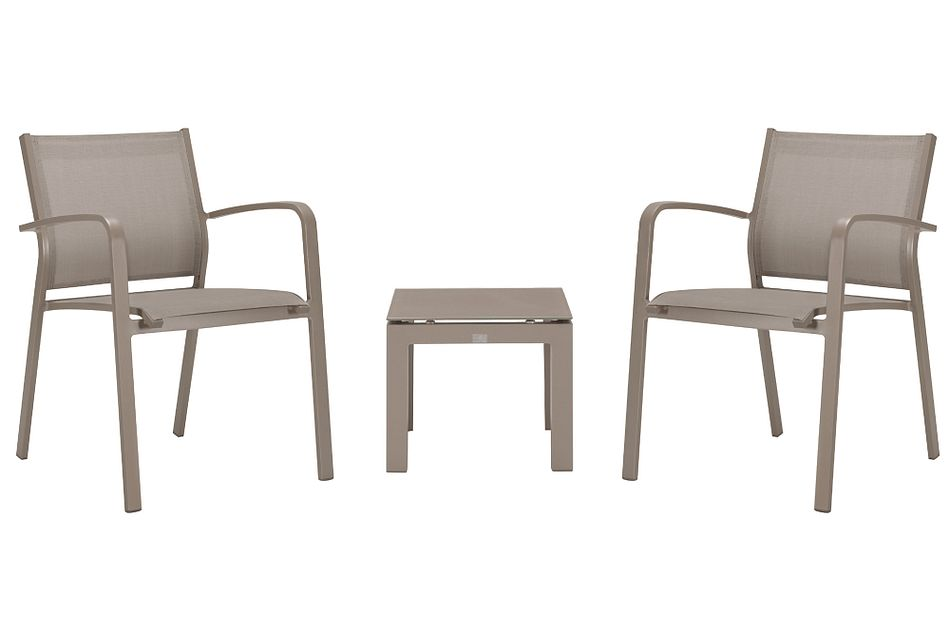 Lisbon Khaki  Chair,