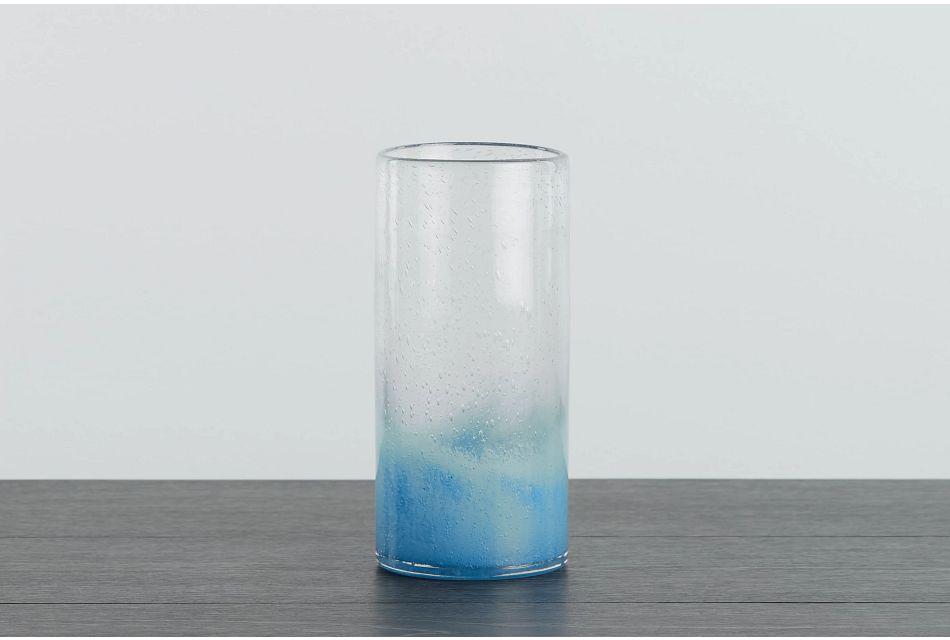 Misty Blue Vase