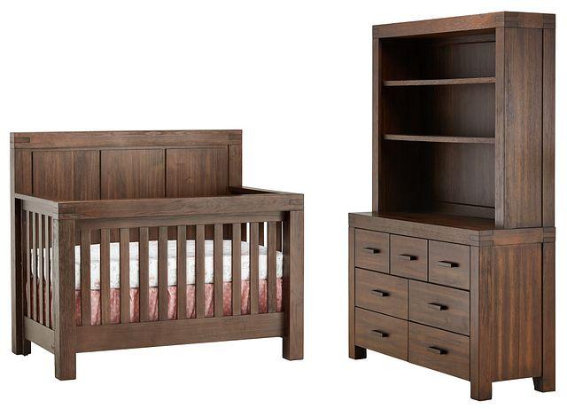 Piermont Mid Tone Large Crib Bedroom