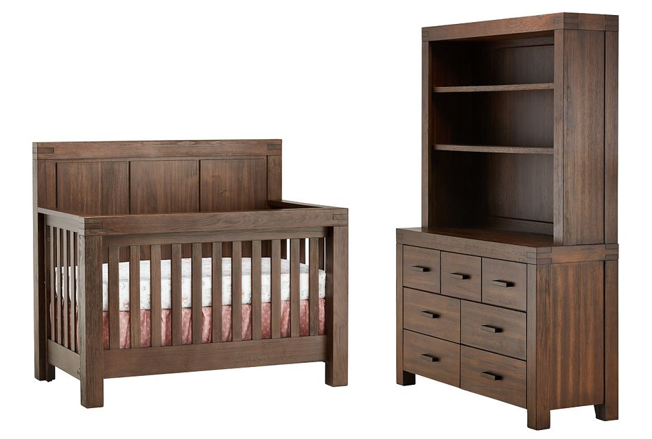 Piermont Mid Tone Large Crib Bedroom