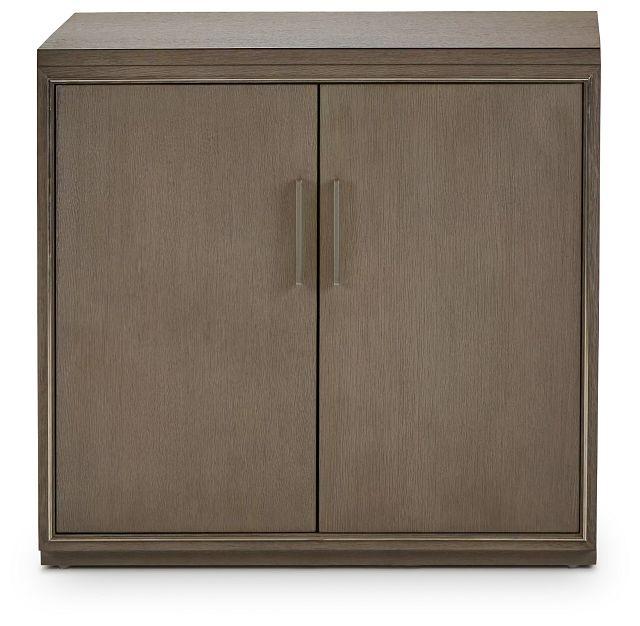 Highline Gray Door Cabinet (1)