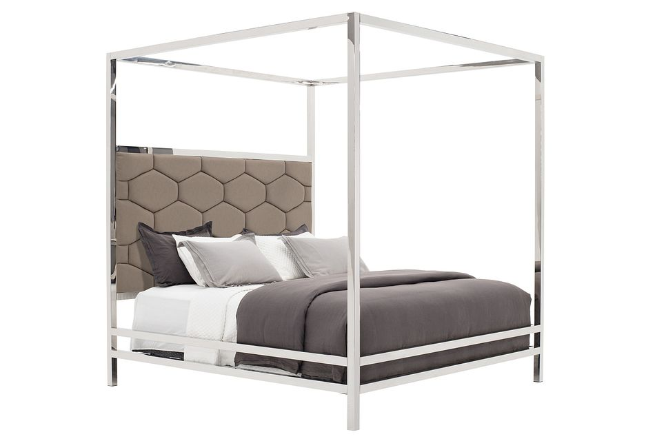 Cortina Champagne Canopy Bed