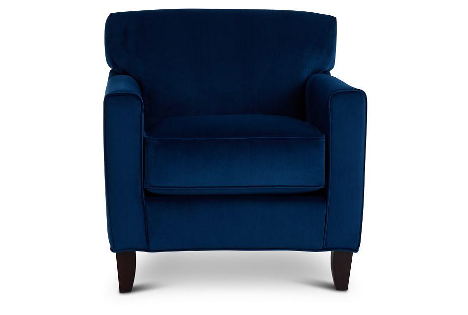 Royale Blue Accent Chair,  (3)