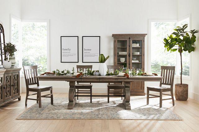 Sonoma Light Tone Wood Side Chair