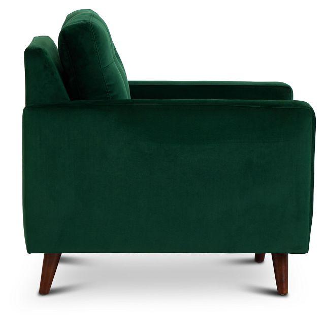 Joya Green Velvet Chair (2)