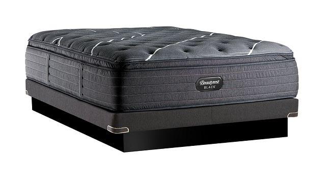Beautyrest Black C-class Plush Pillowtop Low-profile Mattress Set