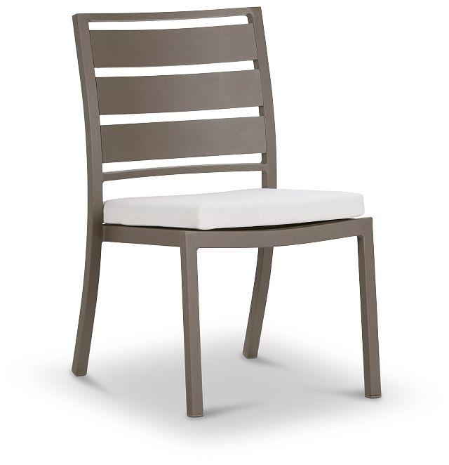 Raleigh Gray Aluminum Side Chair (0)