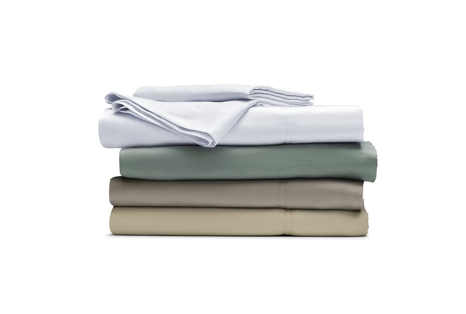 Tencel White 300 Thread Sheet Set