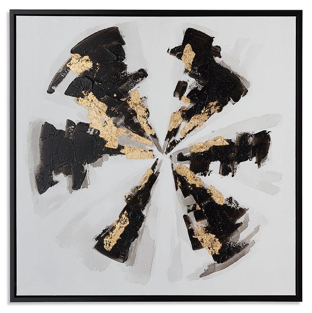 Jago Black Framed Canvas Wall Art (0)