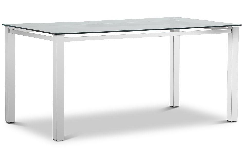 Skyline Glass Rectangular Table