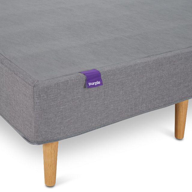 Purple Hybrid Mattress Set