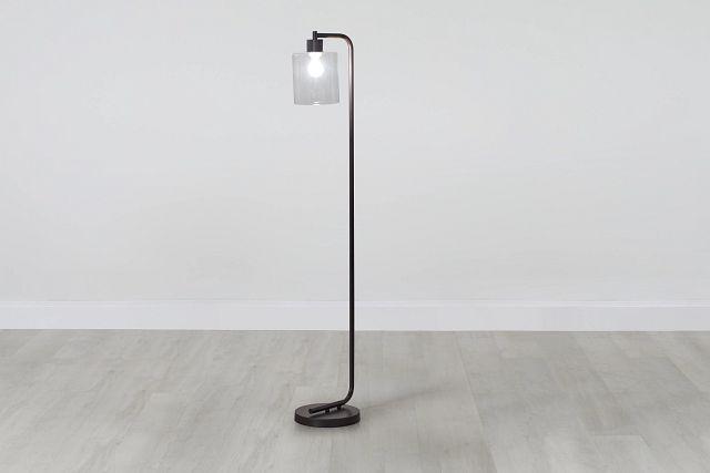 Maxwell Black Metal Floor Lamp (0)
